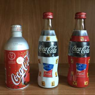 Coca Cola Bottles (2002 World Cup and 2004 Athens Olympics) (Revised Price)