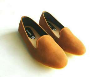 Flat shoes cantik-sepatu kantor