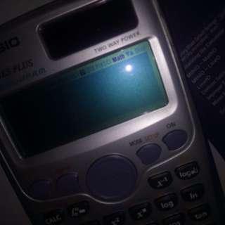 Casio two way solar power calculator