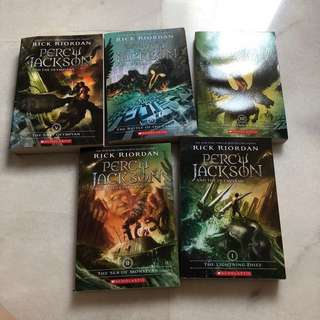 (NEW) Percy Jackson and the Olympians