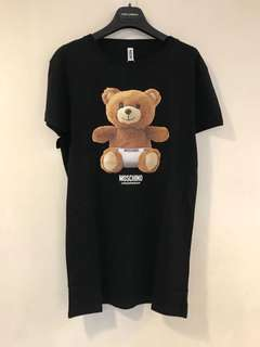Moschino Underwear bear 熊仔 Dress 裙 (長80-82cm) (黑色)