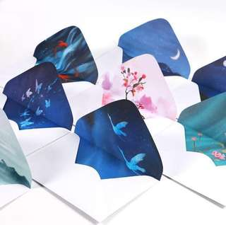 [Paper Envelopes] Chinese paintings on envelopes