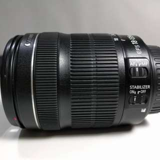 Canon 18mm – 135mm f3.5-5.6 IS STM Zoom Lens Macro
