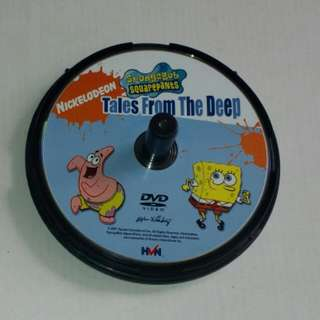 Nickelodeon SpongeBob Squarepants Tales From The Deep DVD