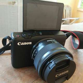 #Canon EOS M10 #Mirrorless With EF 15-45mm lens kit
