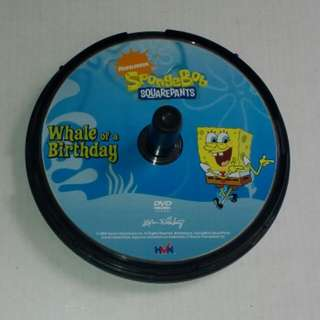 Nickelodeon SpongeBob Squarepants Whale Of A Birthday DVD