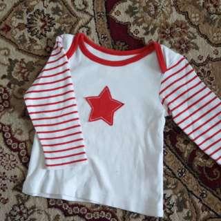 6-9M Mothercare Tshirt
