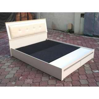 Katil Queen Bed Frame with Drawers * L08 K