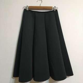 挺版 氣質款 太空棉 圓裙 長裙
