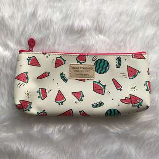 Watermelon Character Design Pencil Case