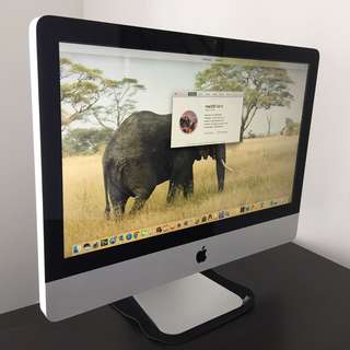 "Apple iMac 21.5"" (iMac12.1 - A1311) - Intel® Core™ i5-2500S CPU @ 2.7 GHz (Quad-Core) / 8 GB / 500 GB HDD / 21.5"" glossy 16:9 LED-backlit TFT LCD (1920x1080) - IPS technology / macOS X EI Capitan 10.11.6 - All-in-One Desktop PC"
