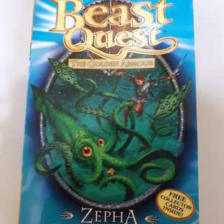 Beast Quest: Zepha the Monster Squid