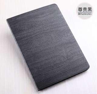 新款i pad case保護殼套超薄木紋