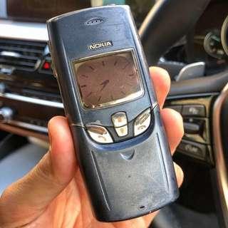 經典末代鬚刨皇 諾基亞 Nokia 8855 8850 8810 8800 8910 7110 8110 8890