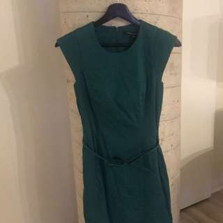 French connection women's green dress size small