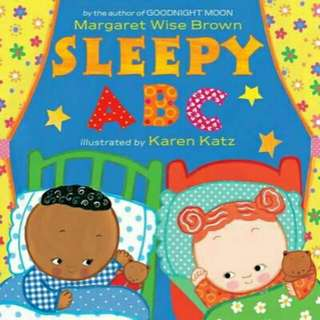 ☺[Brand New]  Sleepy ABC (Board Book)  By:Margaret Wise Brown,Karen Katz(Illustrator)  Board Book