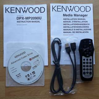 Brand new Kenwood remote control for car CD-receiver