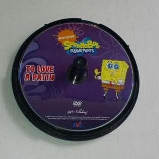 Nickelodeon SpongeBob Squarepants To Love A Patty DVD