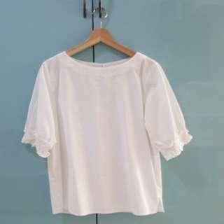 BN Iora white blouse size L