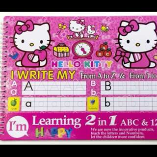 WRITE AND ERASE 2in1 Letters And NUMBERS