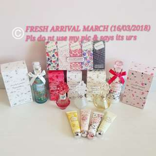 🛍🎁MONTHLY FRESH ARRIVAL: 16/3/2018🛍🎁Jill Stuart MARCH monthly batch - Limited edition Crystal Bloom Hair mist/Handcream etc! (AUTHENTIC Latest Manufactured Date =BEST EFFECT) ❤Xiaoahgal replenished Monthly❤No Pet No Smoker Clean Hse