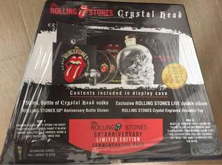 Crystal Head vodka Rolling Stone 50th Anniversary Special Edition