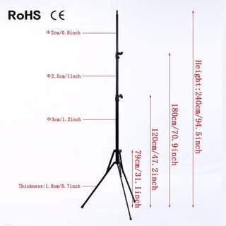 Portable lightstand light stand