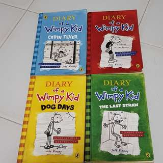 Diary Of A Wimpy Kid Books - English