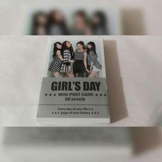 #kpop GIRL'S DAY 迷你明信片 56張
