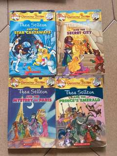 Geronimo Stilton and Thea Books