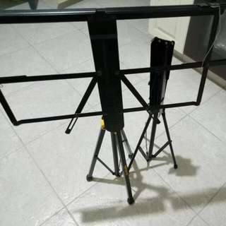 Music Stands.
