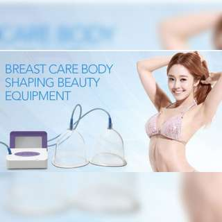 Breast massage machine