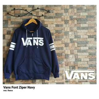 Vans Zipper Navy