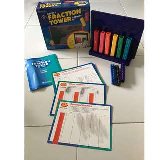 Learning Resources Deluxe Fraction Tower Set