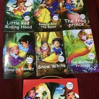 6 pcs story books