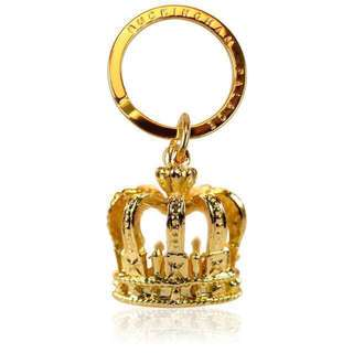 BUCKINGHAM PALACE GOLD CROWN KEYRING