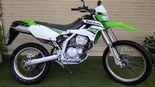 Kawasaki KLX 250 (non motard/offroad)