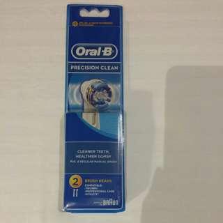 Oral-B precision clean brush head
