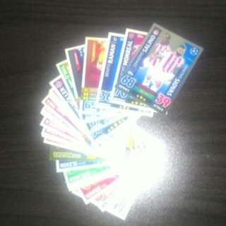 MATCH ATTAX FOOTBALL TRADING CARDS (Topps)