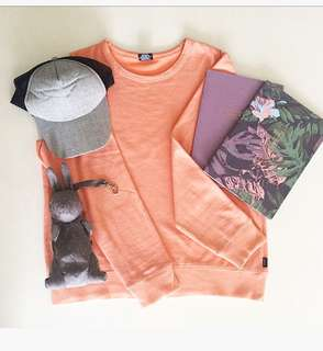 Bonds jumper, sport hat, rabbit afternoon tea wardrobe, meal planner
