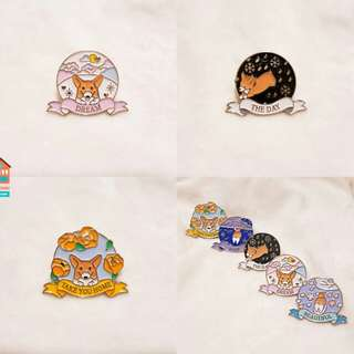 Mongryong badges by baekhyuntown
