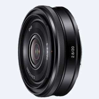 Sony E mount 20mm F2.8 (excellent condition)