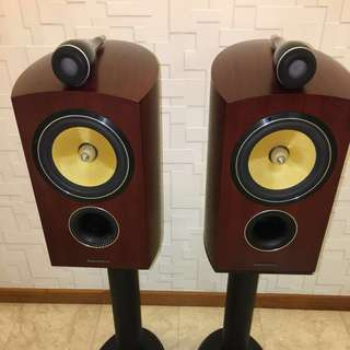 Bowers & Wilkins 805D speakers