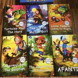 6pcs Story books for kids