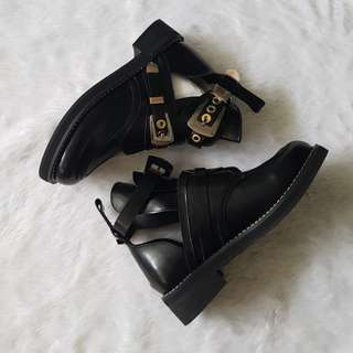 NEW Cut Out Boots (Balenciaga Inspired)