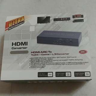 HDMI ARC to Toslink/Coaxial/ RCA