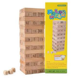 JENGA TOYS FOR KIDS WITH DICE