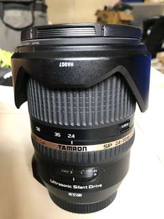 Tamron 24-70 f2.8 G1 for Canon