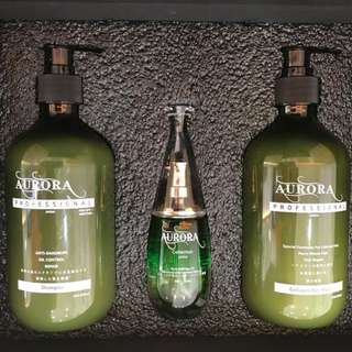 AURORA Japan Set Shampoo Hair Mask Hair Oil