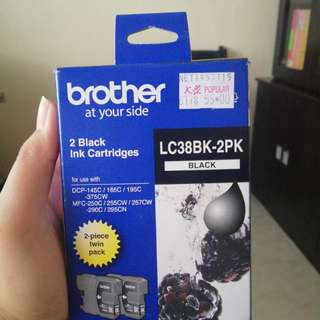 2 Black Brother Ink Cartridge